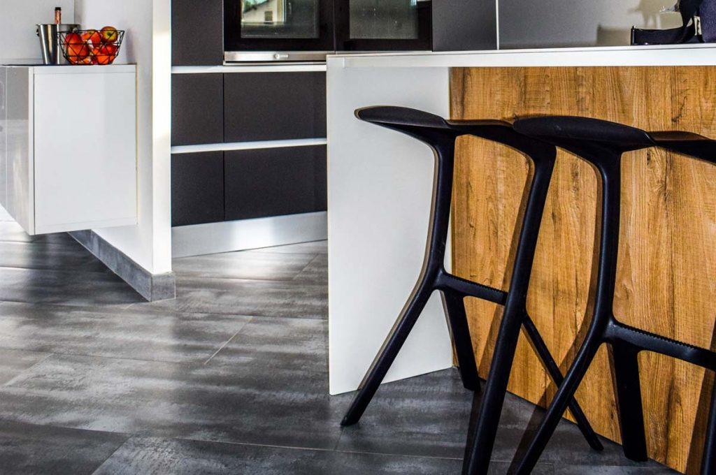 Kitchen Flooor Tiles Grey