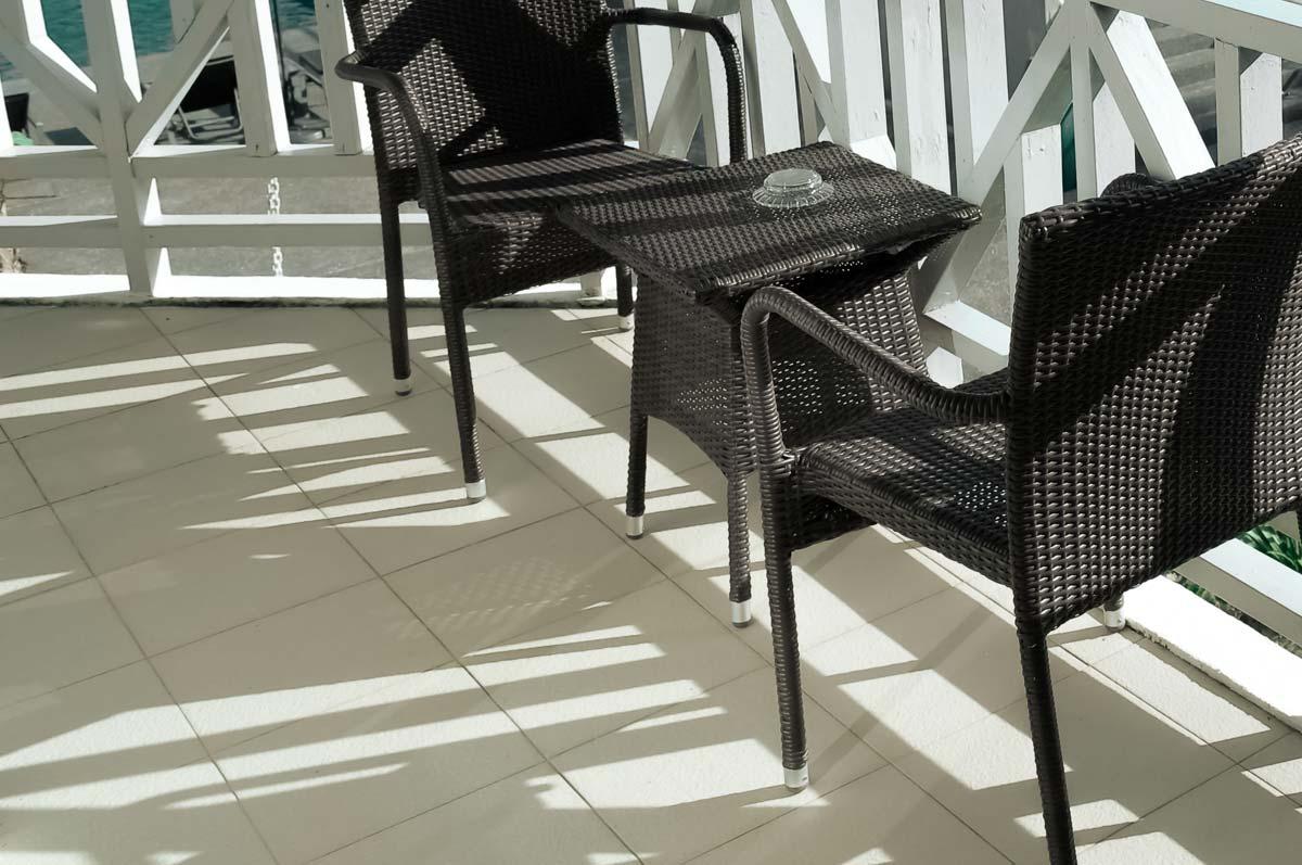 outdoor white patio tiles